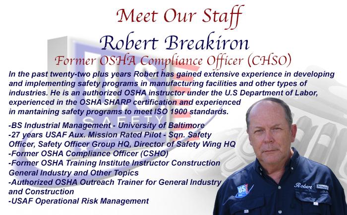 Robert Meet Our Staff