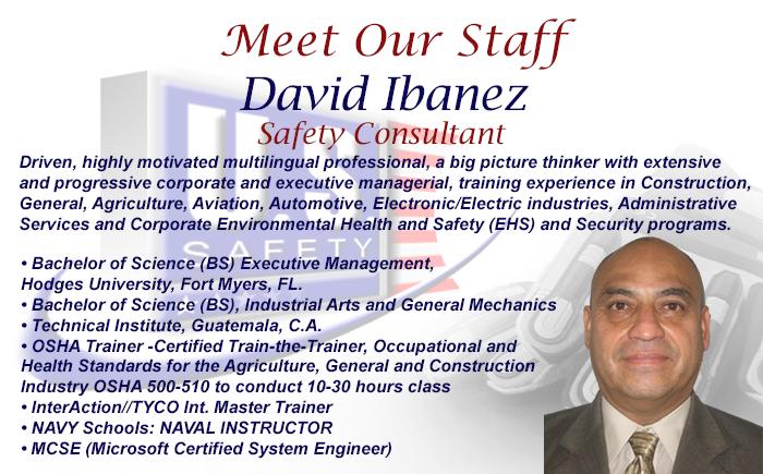 Meet Our Staff David I