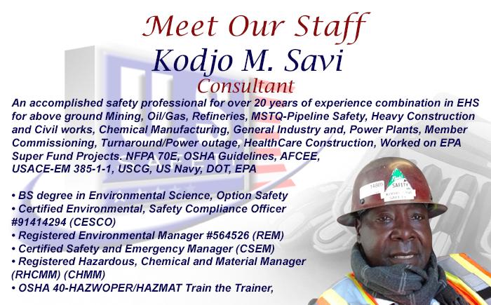 Meet Our Staff Kodjo