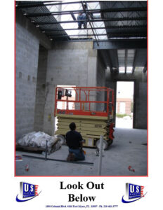 Poster - Look out Below