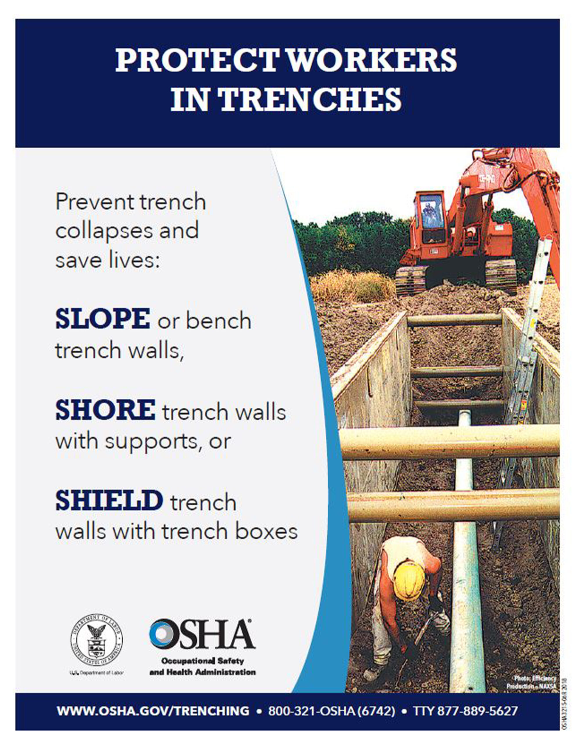 Protect workers in trenches